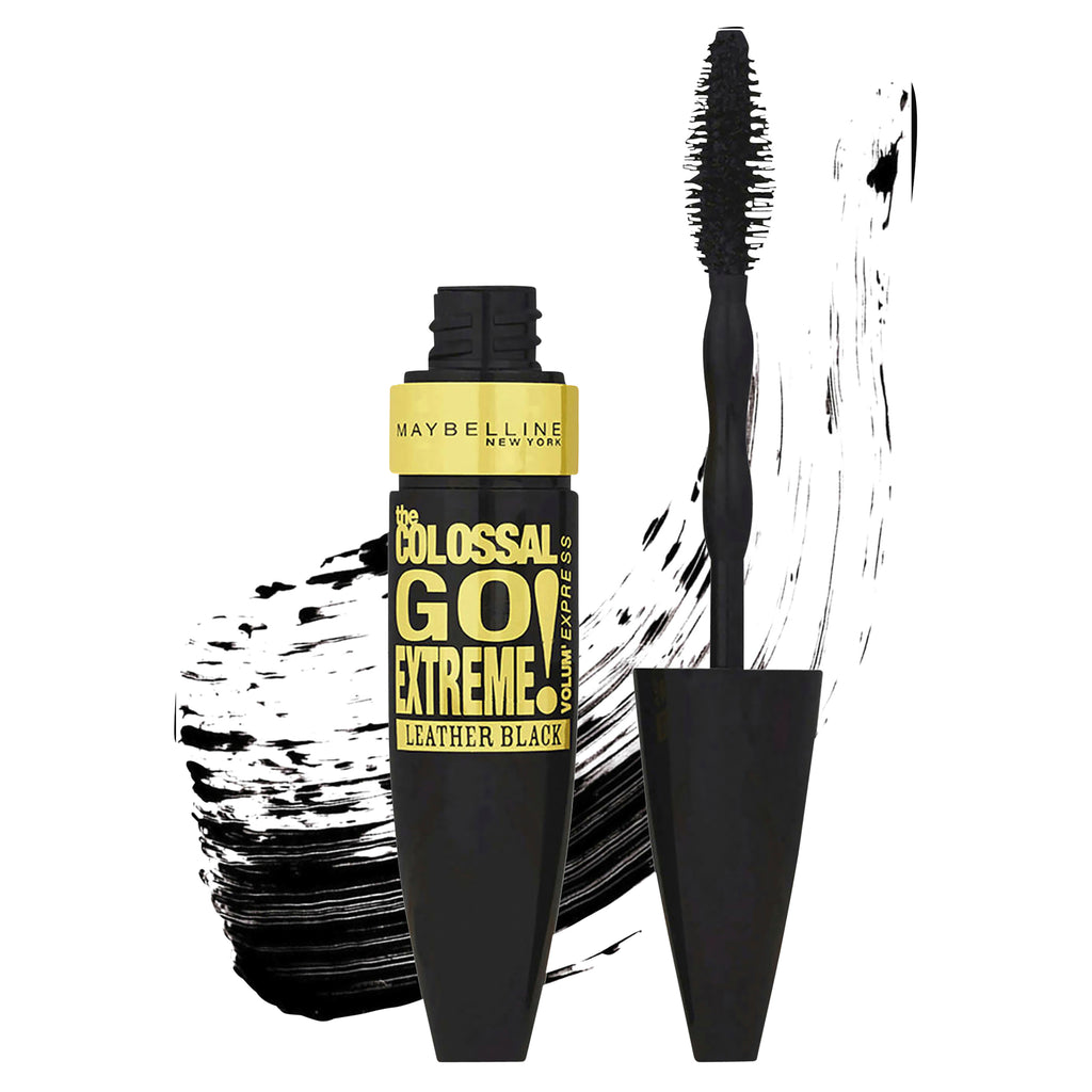 Maybelline Colossal Go Extreme Mascara - Leather Black (washable)