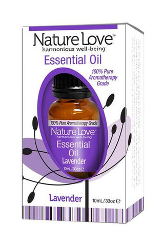 Nature Love Essential Oil | 100% Pure Lavender 10ml