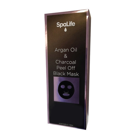 SpaLife - Argan Oil & Charcoal Peel Off Black Mask
