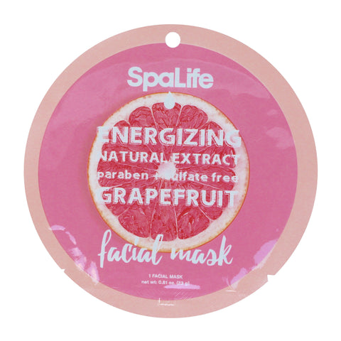 SpaLife Energizing Facial Mask - Grapefruit