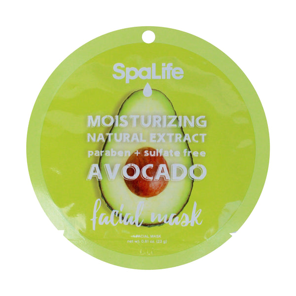 SpaLife Moisturizing Facial Mask - Avocado