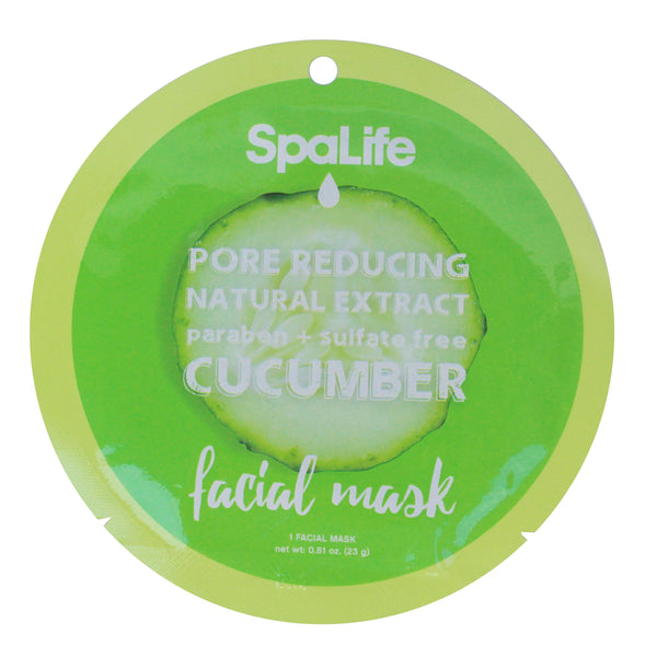 SpaLife Pore Reducing Facial Mask - Cucumber