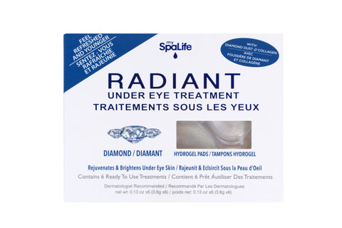 SpaLife - Radiant Diamond Under Eye Treatment 6 Pack