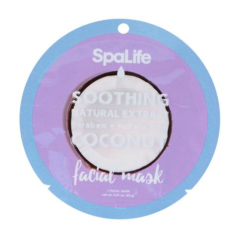 SpaLife Soothing Facial Mask - Coconut