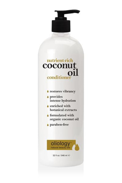 OLIOLOGY | Nutrient-Rich Coconut Oil Conditioner 946 ml