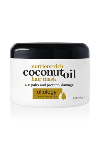 OLIOLOGY | Nutrient-Rich Coconut Oil Hair Mask
