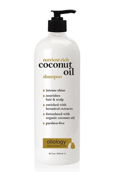 OLIOLOGY | Nutrient-Rich Coconut Oil Shampoo 946 ml