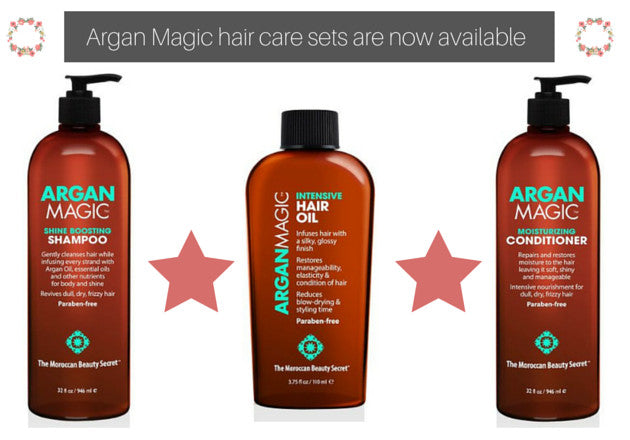 Argan Magic Hair Care Sets