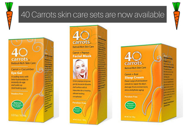 40 Carrots Skin Care Sets