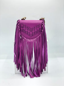 Sirkel Fringe Mini Crossbody