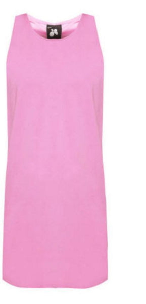 Pink One Piece Dress - Anladia - 9