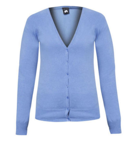 Blue Knitted Cardigan - Anladia - 7