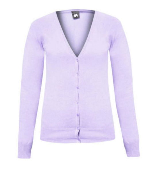 Pink Knitted Cardigan - Anladia - 8