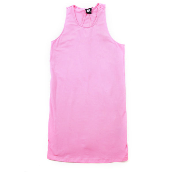 Pink One Piece Dress - Anladia - 8