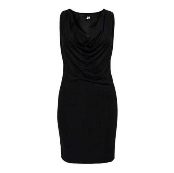 Black Chain Bodycon Dress - Anladia - 9