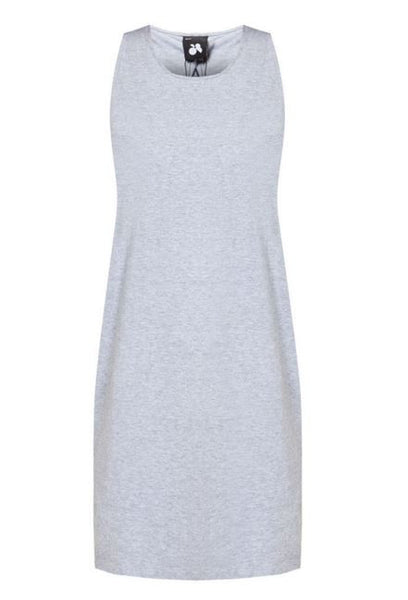 Grey One Piece Dress - Anladia - 8