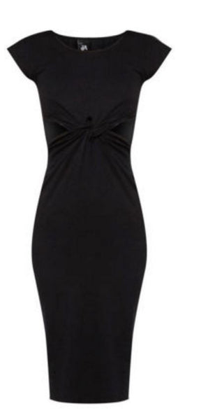 Black Tyra Dress - Anladia - 8