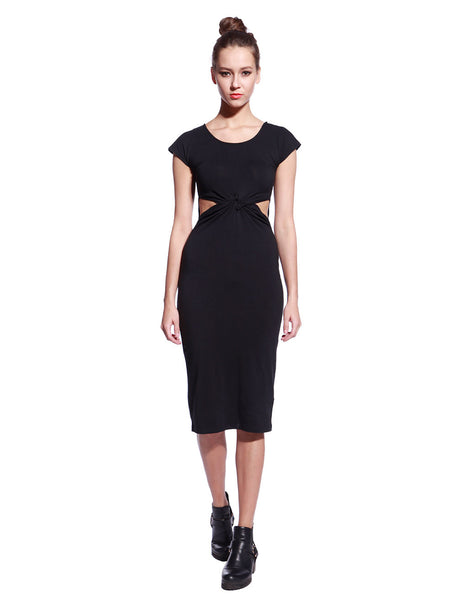 Black Tyra Dress - Anladia - 3