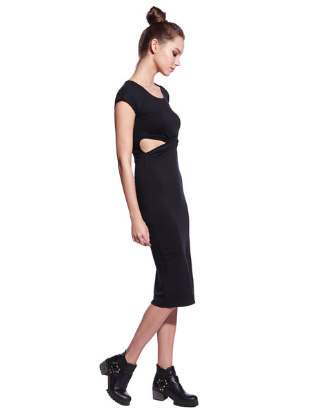 Black Tyra Dress - Anladia - 5