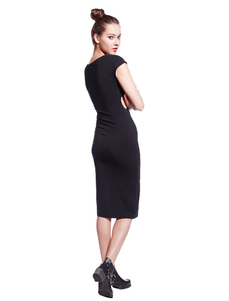 Black Tyra Dress - Anladia - 7