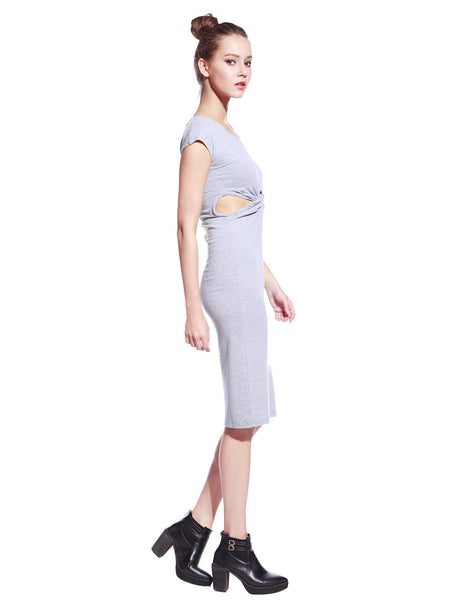 Grey Tyra Dress - Anladia - 6