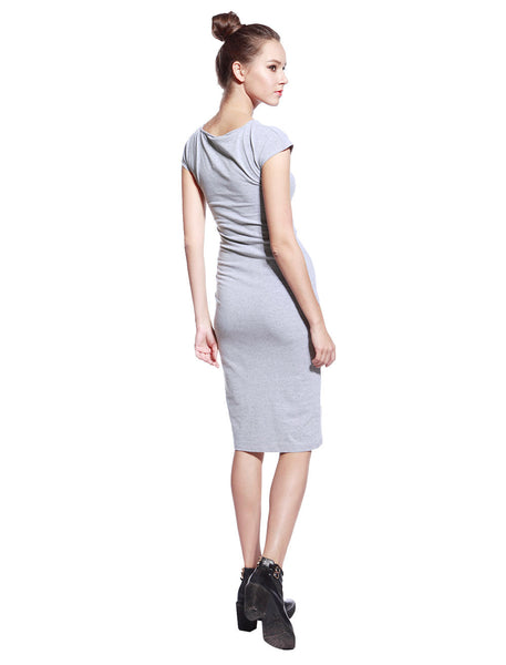 Grey Tyra Dress - Anladia - 8