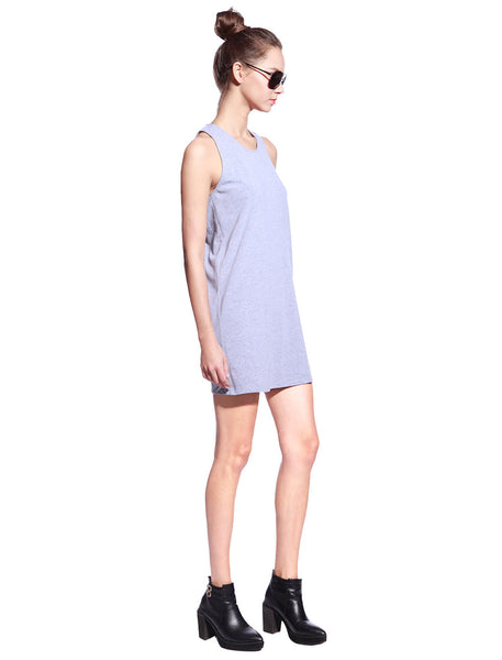 Grey One Piece Dress - Anladia - 5