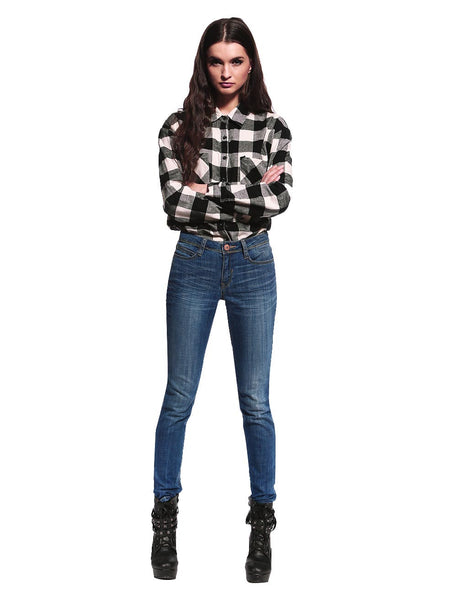 Kylie Classic Skinny Jeans - Anladia - 2