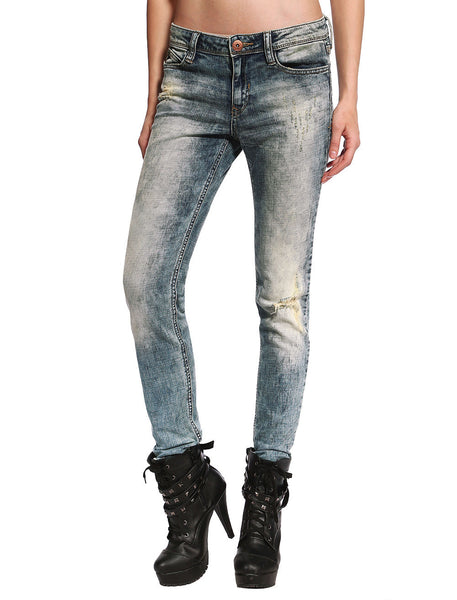 Sienna Distressed & Ripped Skinny Jeans - Anladia - 4