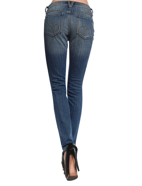 Gemma Distressed & Ripped Skinny Jeans - Anladia - 2