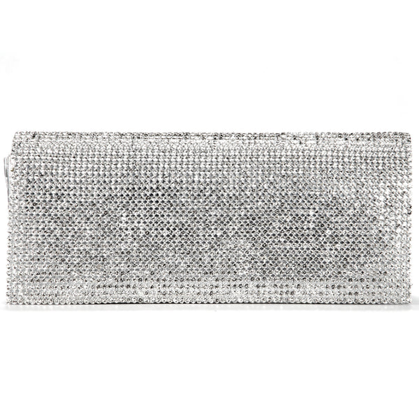 Shimmery Evening Clutch Bag - Anladia - 1