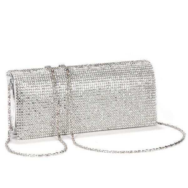 Shimmery Evening Clutch Bag - Anladia - 2