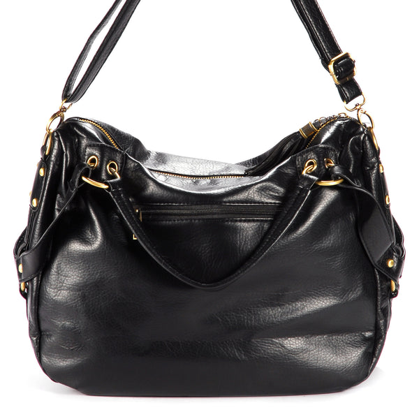 Tassel Leather Shoulder Bag - Anladia - 2