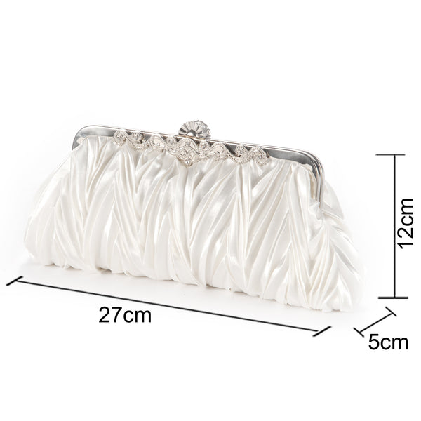 Classy Evening Clutch Bag - Anladia - 6