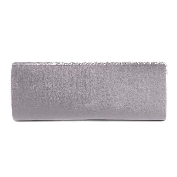Pleated Party Clutch Bag - Anladia - 4