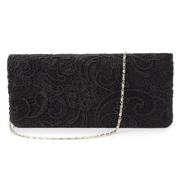 Lace Floral Clutch Bag - Anladia - 7