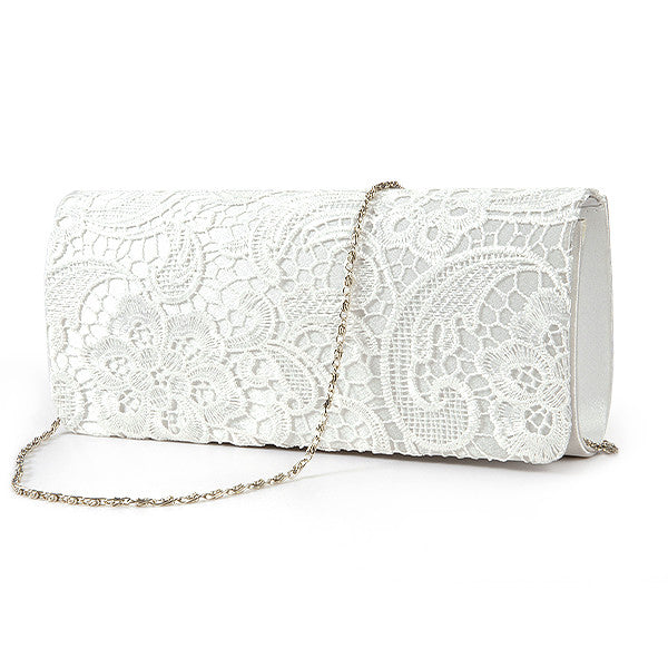 Lace Floral Clutch Bag - Anladia - 2