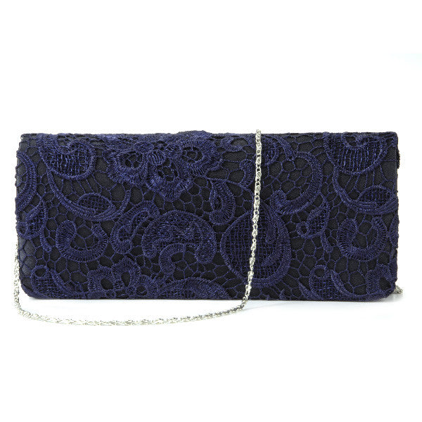 Lace Floral Clutch Bag - Anladia - 8