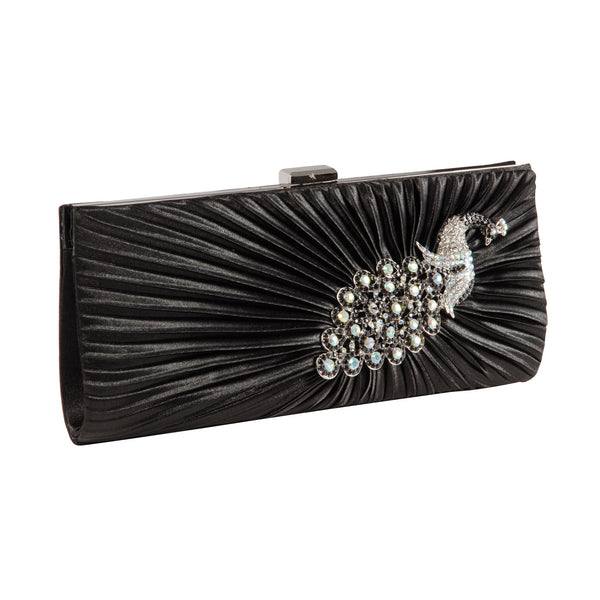 Crystal Peacock Clutch Bag - Anladia - 2