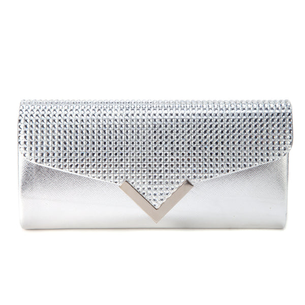 Mini Leather Clutch Bag - Anladia - 1