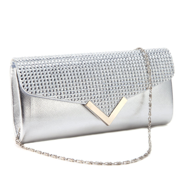 Mini Leather Clutch Bag - Anladia - 2