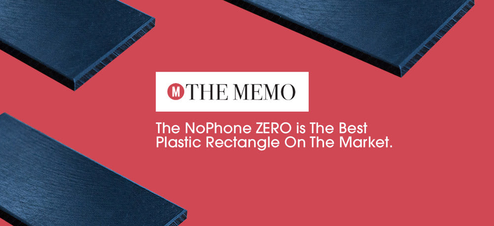 The NoPhone is the best plastic rectangle on the market
