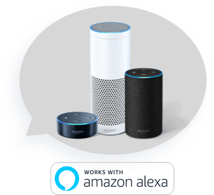 LIFX works with Amazon Alexa