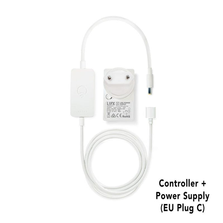 LIFX Z HomeKit Compatible Controller Controller + Power Supply (EU Plug C) - Connect your home with smart lighting - LIFX Europe