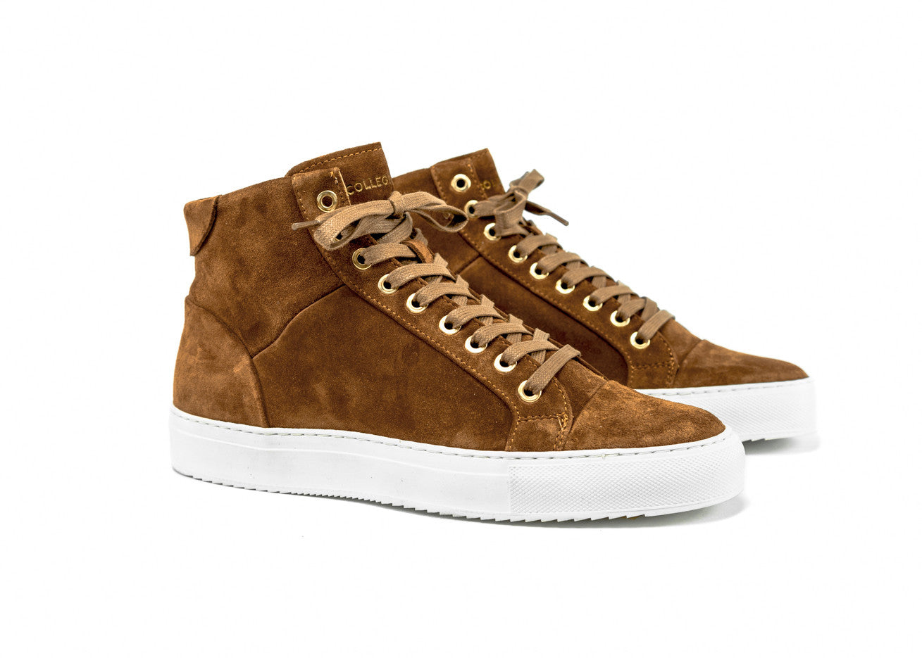 "Triumph Pillar High ""Cognac Suede"""