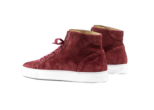 "Triumph Pillar High ""Brandy Suede"""