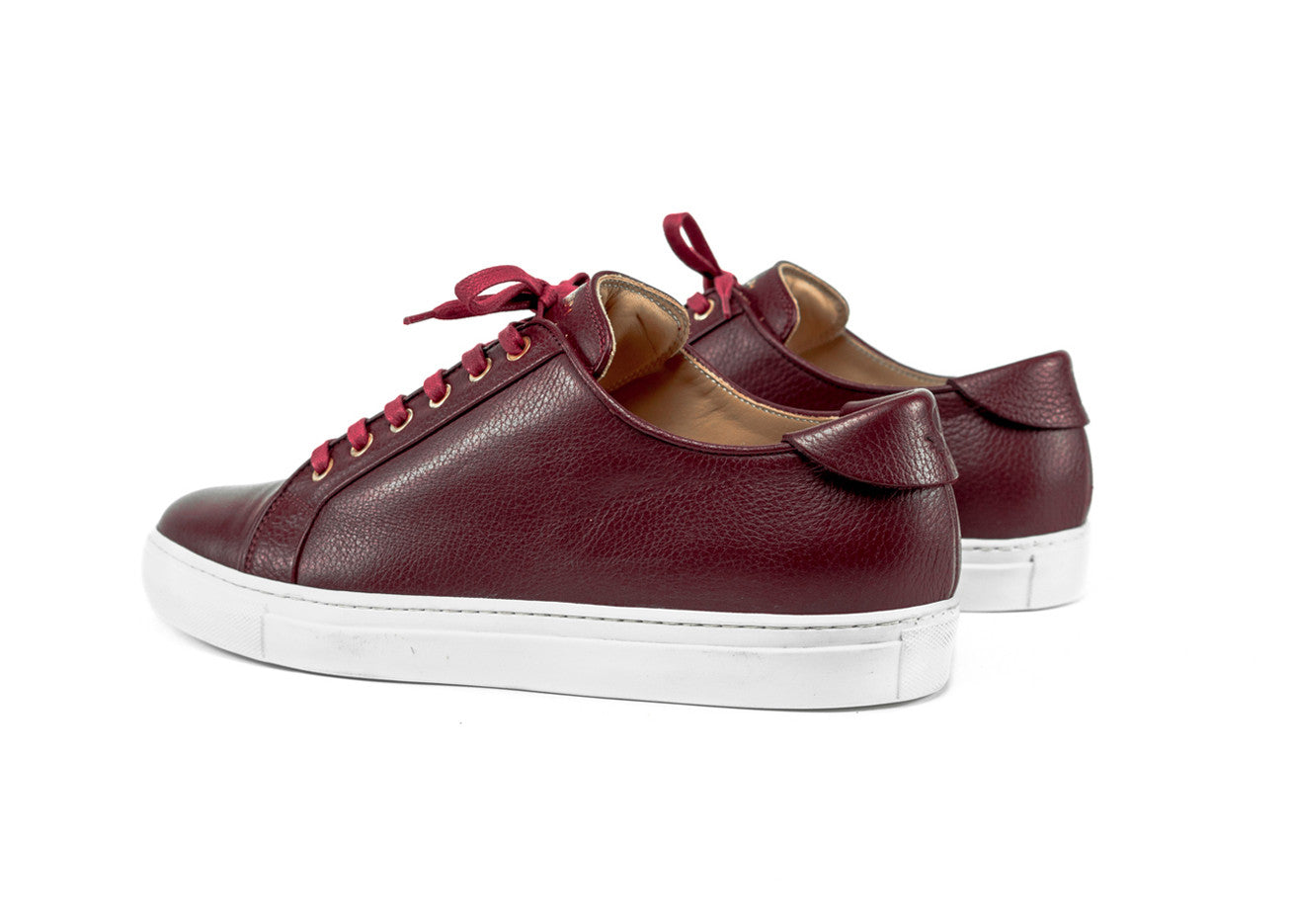 "Classic Pillar Low ""Bordeaux"""