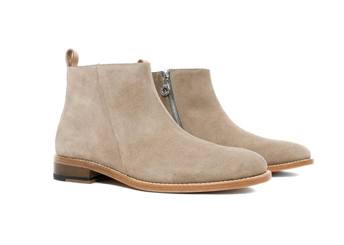"Classic Pillar Zipped Boot ""Ardesia"""