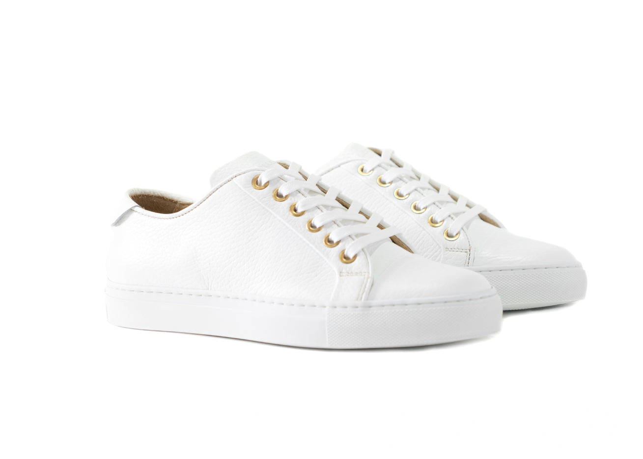 "Women's Classic Pillar Low ""Bianco"""