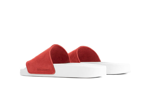 "Women's Classic Pillar Slide ""Coral Suede"""